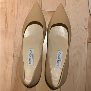 Brand new Jimmy choo in nude in size 38